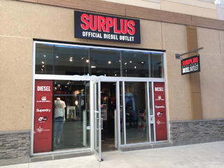 huge discount c0bf8 2ede4 Surplus The Official Diesel Outlet Opens in Niagara | Think ...